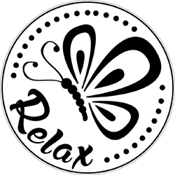 Label Relax Butterfly