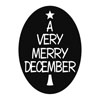 Label A VERY MERRY DECEMBER