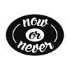 Label now or never