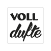 Label voll dufte
