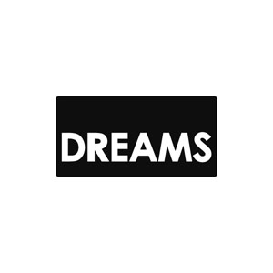 Label Worte DREAMS