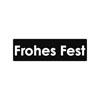 Label Frohes Fest